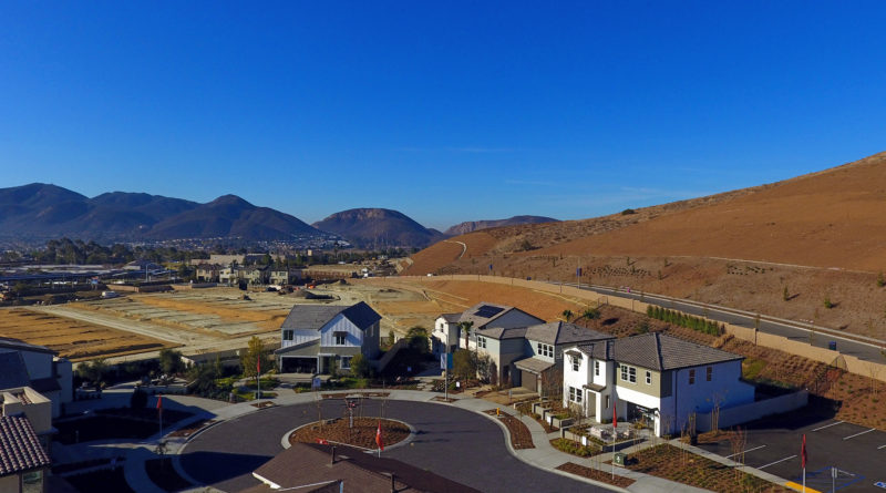 Sandstone at Weston by Pardee Homes, Santee, CA, 1/5/18.